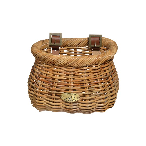 Nantucket Bicycle Basket Co. Cisco Brown Rattan Child Classic Basket