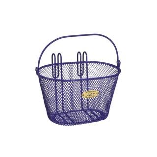 Nantucket Bicycle Basket Co. Surfside Child Mesh Wire Basket (Option: Purple)