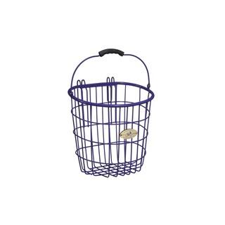 Nantucket Bicycle Basket Co. Surfside Rear Wire Pannier Basket (Option: Purple)
