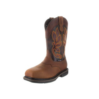 Wolverine Men's Roscoe Hp Wpf Brown Leather Wide Boots