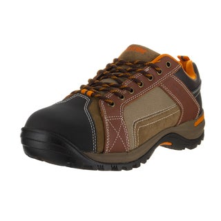 Wolverine Men's Chisel Brown Textile Low Work Shoes