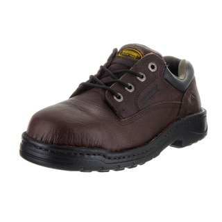 Wolverine Men's Exert Brown Leather Work Shoe