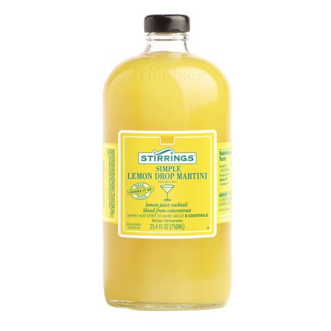 Stirrings 25.4-ounce All Natural Lemon Drop Mixer (6 Bottles)
