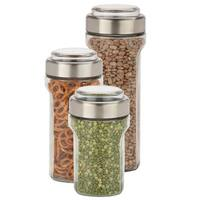 Honey-Can-Do 3pc Store and Measure Set, SS