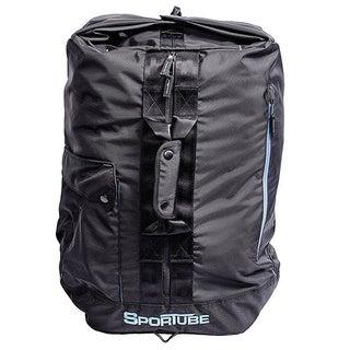 Sportube Black Polyester Overnighter Duffel Bag