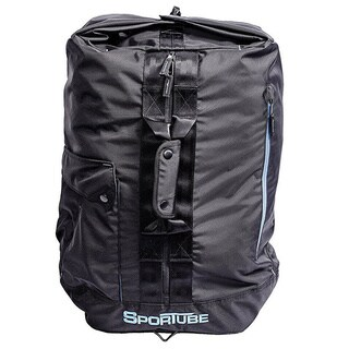 Sportube Black Polyester Overnighter Duffel Bag
