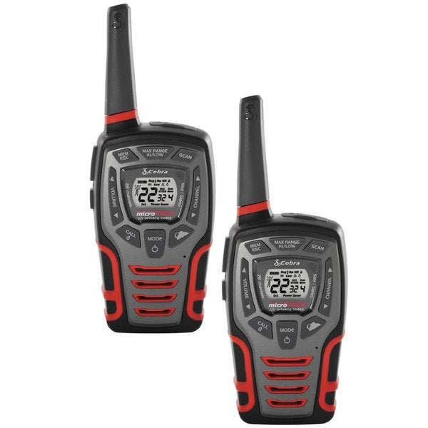 Cobra CXT595 MicroTalk 32-Mi 22-Channel Walkie Talkies with Vox