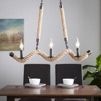 Harper Blvd Tremonti Twisted Rope Chandelier