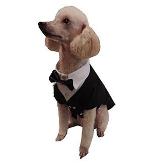 L&C Puppy-Ro Puppy Dog Tuxedo (Large), Black