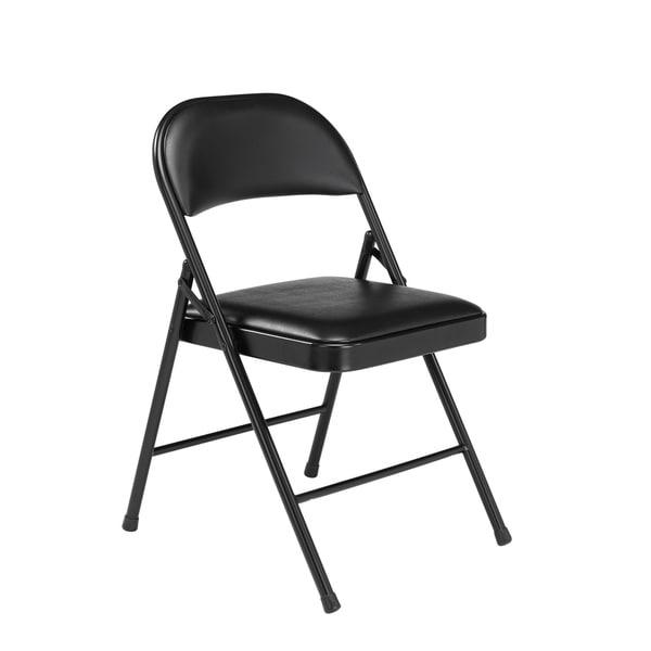 (4 Pack) NPS Commercialine Vinyl Padded Folding Chair