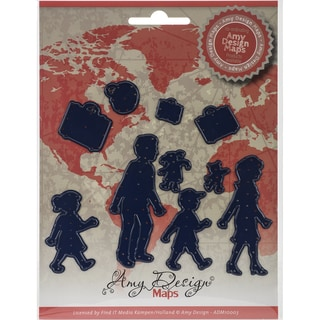 Find It Trading Amy Design Map Die-Family
