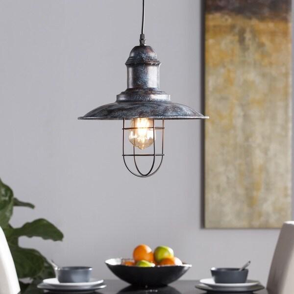 Industrial Bell Pendant Light: Shop Harper Blvd Zinter Industrial Bell Pendant Lamp