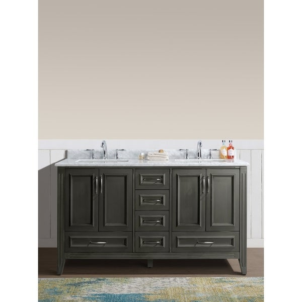 "Ari Kitchen and Bath Jude 60"" Single Bathroom Vanity Set"