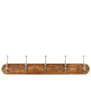 Urban Trends Collection Brown Natural Wood Finish Wall Hanger
