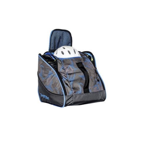 Sportube Blue Camo Polyester Freeloader Padded Gear and Boot Bag