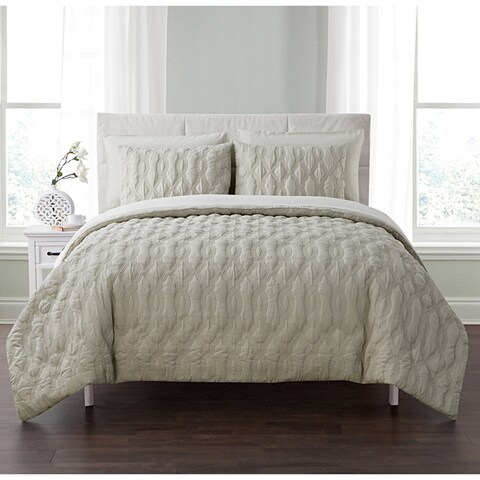 Porch & Den Lancelot Embossed 5 or 7-piece Bed in a Bag with Sheets