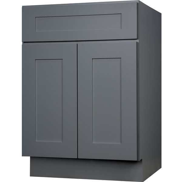 36 Inch Grey Shaker Single Sink Bathroom Vanity Cabinet Free Shipping Today
