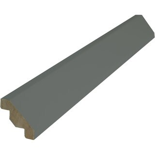 Everyday Cabinets 96-inch Gray Shaker Crown Moulding