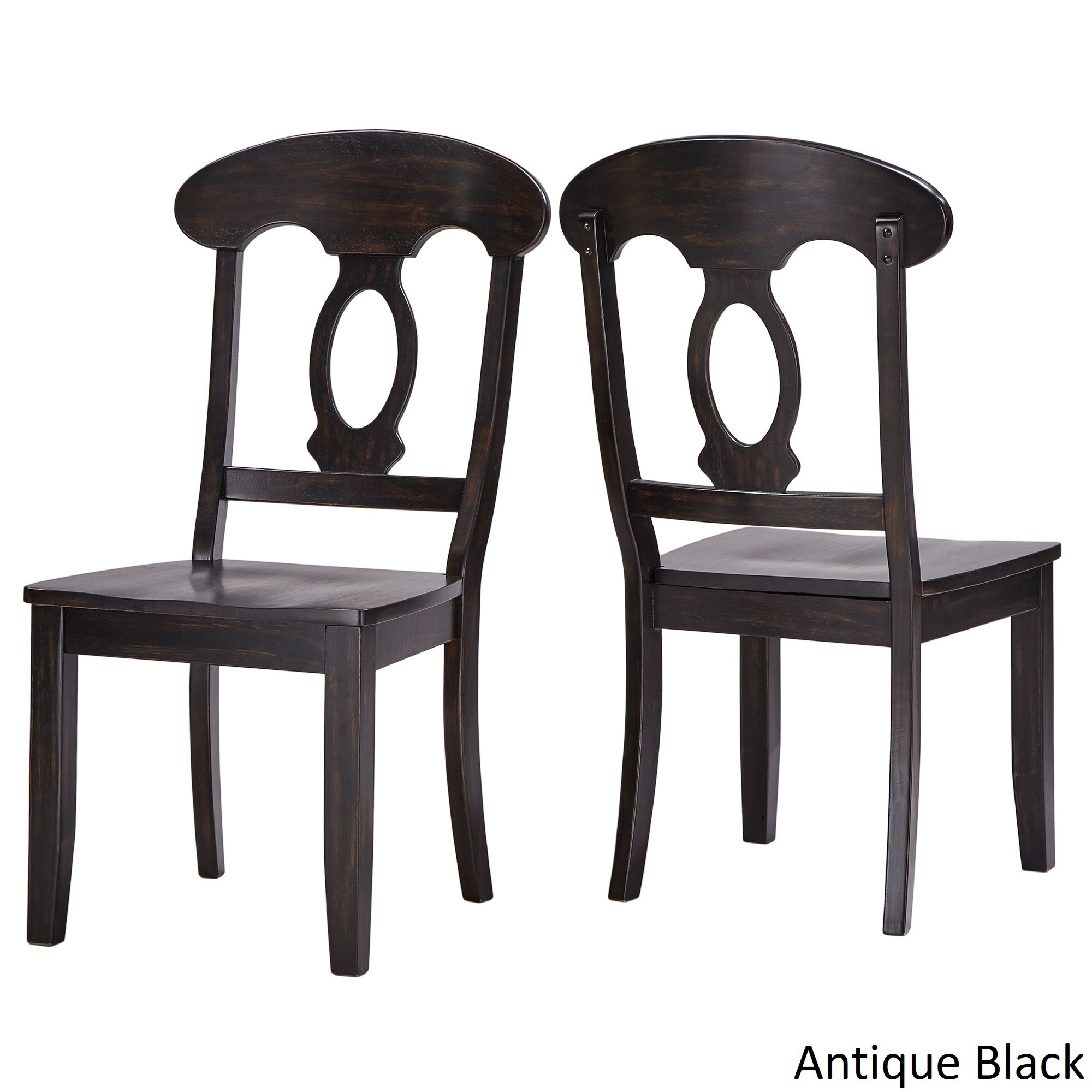 purchase cheap 1826c 2b1a6 Eleanor Napoleon Back Wood Dining Chair (Set of 2) by iNSPIRE Q Classic