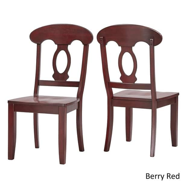 Shop Queen Anne Desk Chair Set Free Shipping Today >> Shop Eleanor Napoleon Back Wood Dining Chair Set Of 2 By