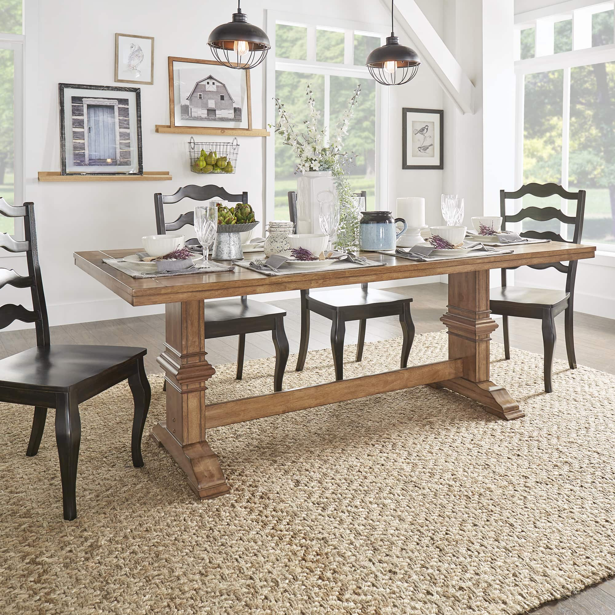 Kitchen dining room tables for less for Dining room tables home goods