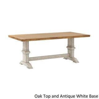 ab9b9ea7f541 Buy Antique Kitchen   Dining Room Tables Online at Overstock