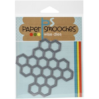 Paper Smooches Die-Honeycomb