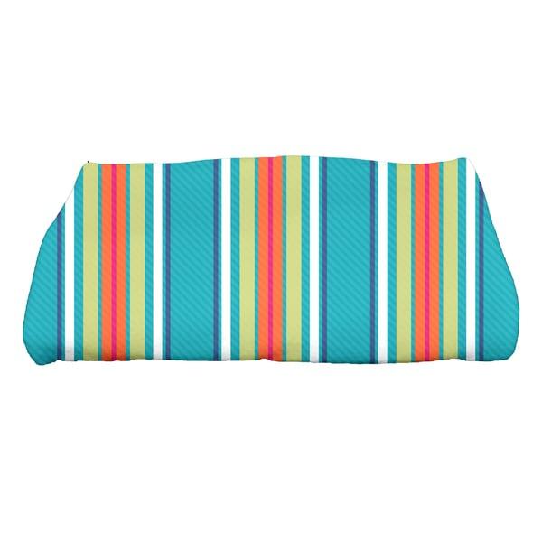 Multi-stripe Print Bath Towel