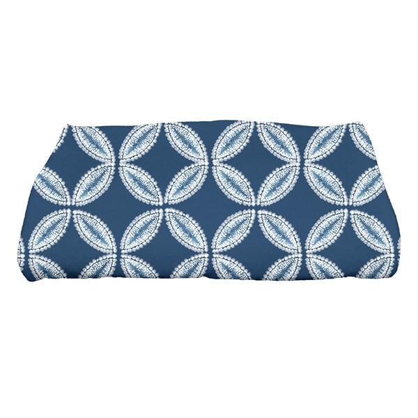 Tidepool Geometric Print Bath Towel