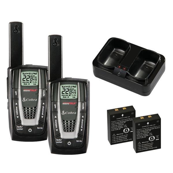 COBRA CXR725 27-mile 22-channel FRS/GMRS Walkie Talkie 2-way Radios