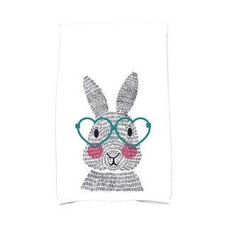 What's Up Bunny? Holiday Animal Print Kitchen Towel (3 options available)