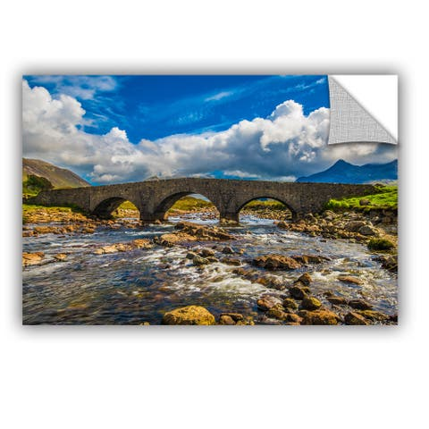 ArtAppealz Steve Ainsworth's 'The Old Stone Bridge' Removable Wall Art Mural