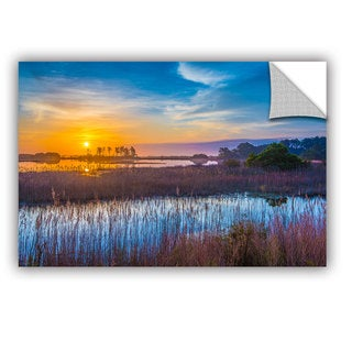 ArtAppealz Steve Ainsworth's 'Salt Marsh Sunrise' Removable Wall Art Mural