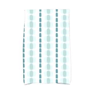 Watercolor Stripe Stripe Print Kitchen Towel