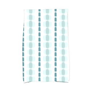Watercolor Stripe Stripe Print Kitchen Towel