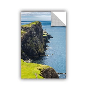ArtAppealz Steve Ainsworth's 'Niest Point Lighthouse I' Removable Wall Art Mural