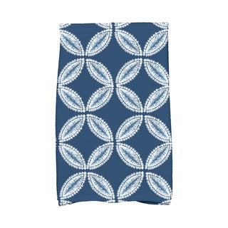 Tidepool Geometric Print Kitchen Towel