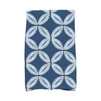 Tidepool Geometric Print Kitchen Towel