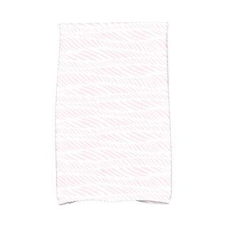 Rolling Waves Geometric Print Kitchen Towel