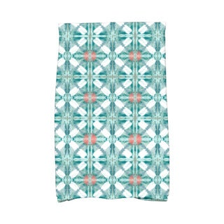 Beach Tile Geometric Print Kitchen Towel