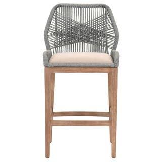 Grey Manor Curtis Platinum-colored Mahogany/Fabric Barstool|https://ak1.ostkcdn.com/images/products/13536167/P20216190.jpg?impolicy=medium