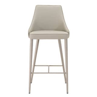 Link to Modern Life Ira Light Grey Counter Stool Similar Items in Dining Room & Bar Furniture