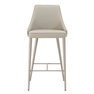 Modern Life Ira Light Grey Counter Stool
