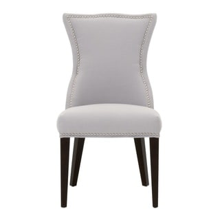 Grey Manor Frasier Light Grey Wood Dining Chair (Set of 2)