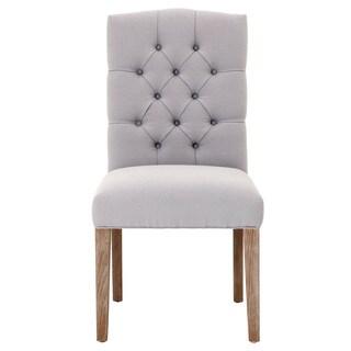 Grey Manor Regan Light Grey Dining Chairs (Set of 2)
