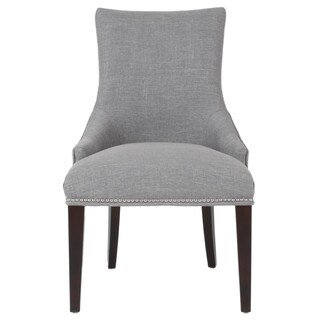 Grey Manor Norman Smoke Fabric Dining Chair