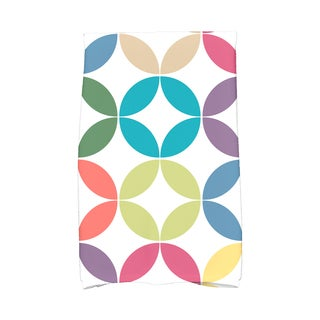 Eye Opener Geometric Print Hand Towel