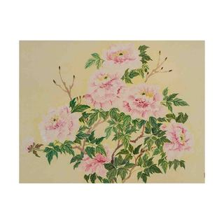 Wealth of Peonies Canvas by Jamaliah Morais