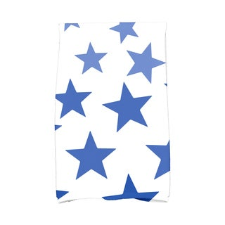 Just Stars Geometric Print Hand Towel