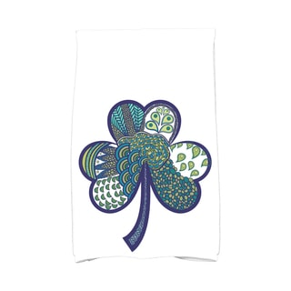 Sham-Tangle Holiday Floral Print Hand Towel
